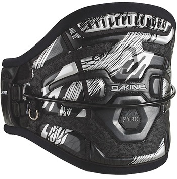 Dakine 2016 Pyro Waist Harness Black