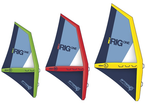 Fanatic iRIG ONE Inflatable Windsurf Sail
