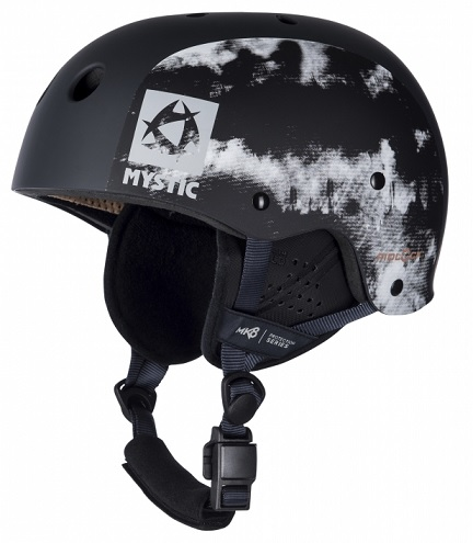 Mystic MK8 X Kiteboard / Wake Safety Helmet Grey