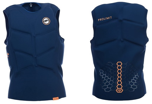 Prolimit Half Padded Impact Vest Blue