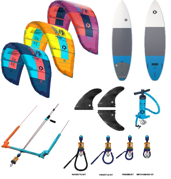 Duotone 2019 Neo + Quest TT Kitesurf Package Deal