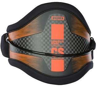ION 2018 CS Freeride Hard Back Waist Harness