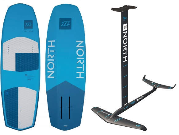 North Pro Foil Board & Speedster Foil
