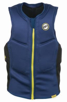 Prolimit Half Padded Yellow Front Zip Impact Vest