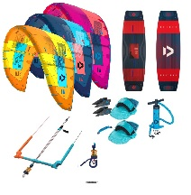 Duotone 2019 Evo + Select Kitesurf Package Deal