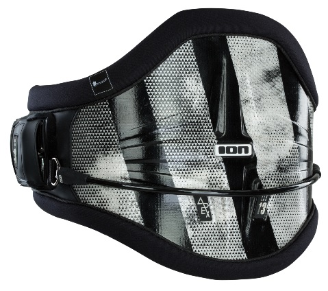 ION 2020 Apex Curv 13 Waist Harness Black White