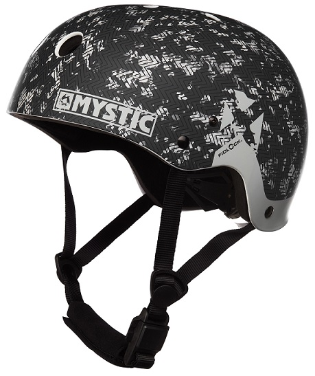 Mystic MK8 X Kiteboard / Wake Safety Helmet Black/White