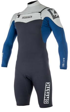 Mystic Star 3/2mm Longarm Shorty Front Zip Wetsuit