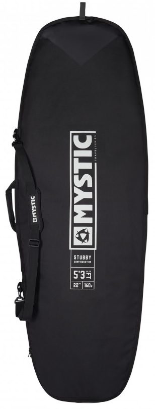 Mystic Star Stubby Single Surf Board Bag Black