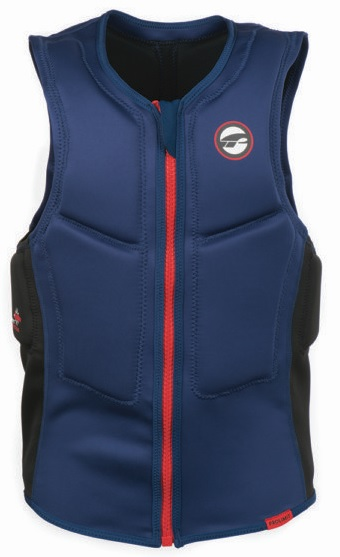 Prolimit Half Padded Red Front Zip Impact Vest