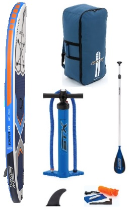 STX Freeride/Allround 10ft6 Inflatable SUP Package