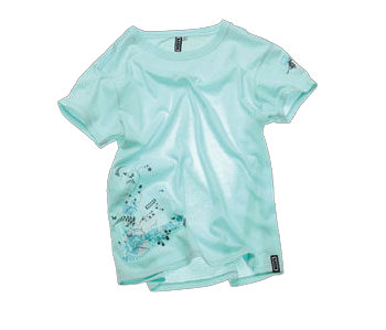 "ION ""The Garden"" SS Tshirt Aqua"