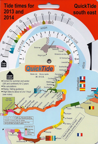 QuickTide 2013/14 South East Tide Table Calculator