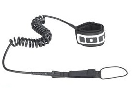 ION Coiled Ankle SUP Leash
