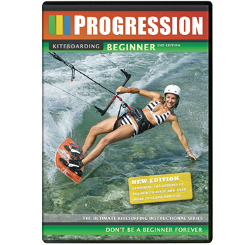 Progression Kitesurfing DVD - Beginner 2nd Edition