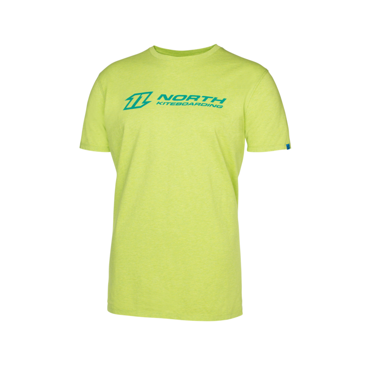 North T-Shirt Logo lime punch