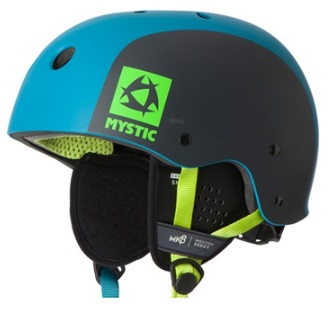 Mystic MK8 Kiteboard / Wake Safety Helmet Teal
