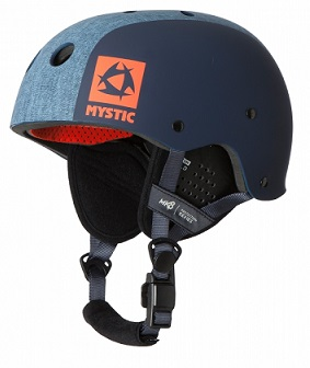 Mystic MK8 X Kiteboard / Wake Safety Helmet Blue
