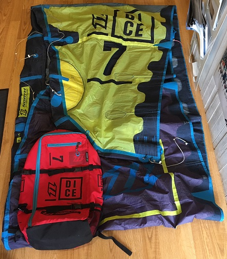 S/H North 2016 Dice 7m Kite Only