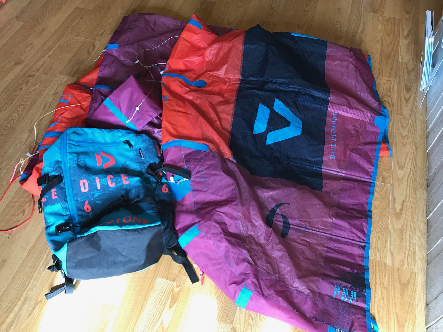 S/H Duotone Dice 6m Kite Only