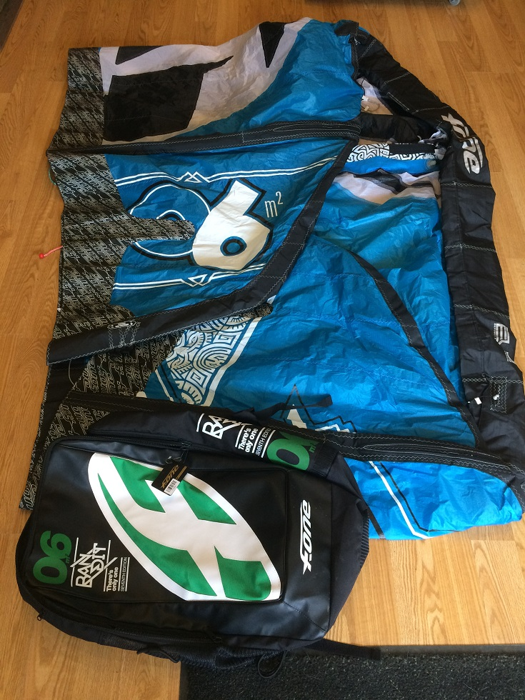 S/H F-ONE Bandit 7 2014 6m kite only