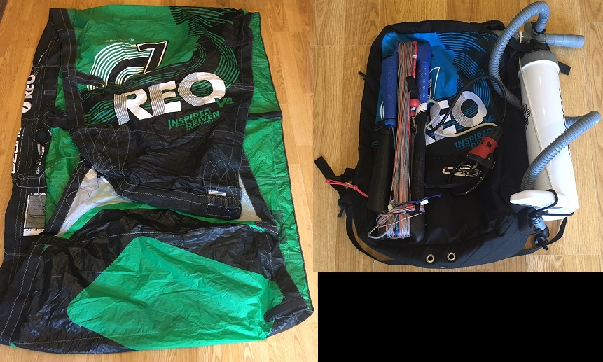 S/H Ozone Reo V4 7m Complete