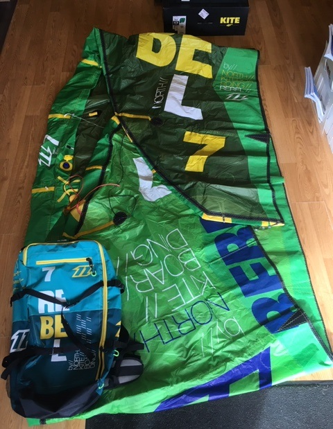 S/H North 2014 Rebel 7m Kite Only