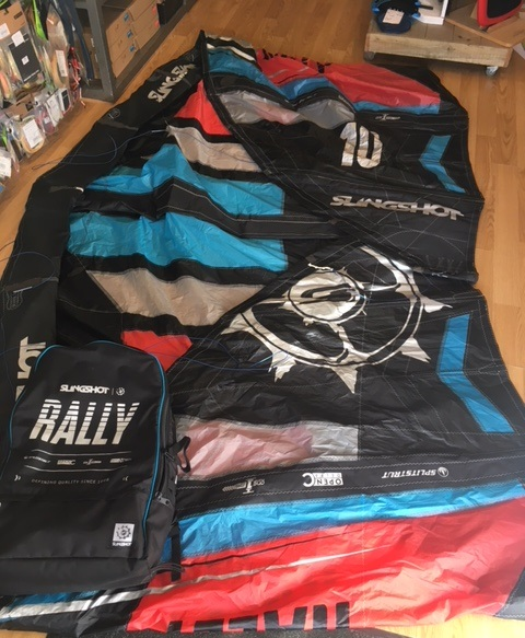 S/H Slingshot Rally 2017 10m Kite Only