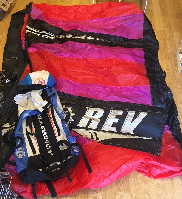 S/H Slingshot 11m Rev 1 Kite Only