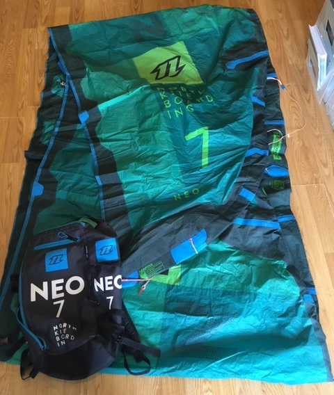 S/H North 2017 Neo 7m Kite Only
