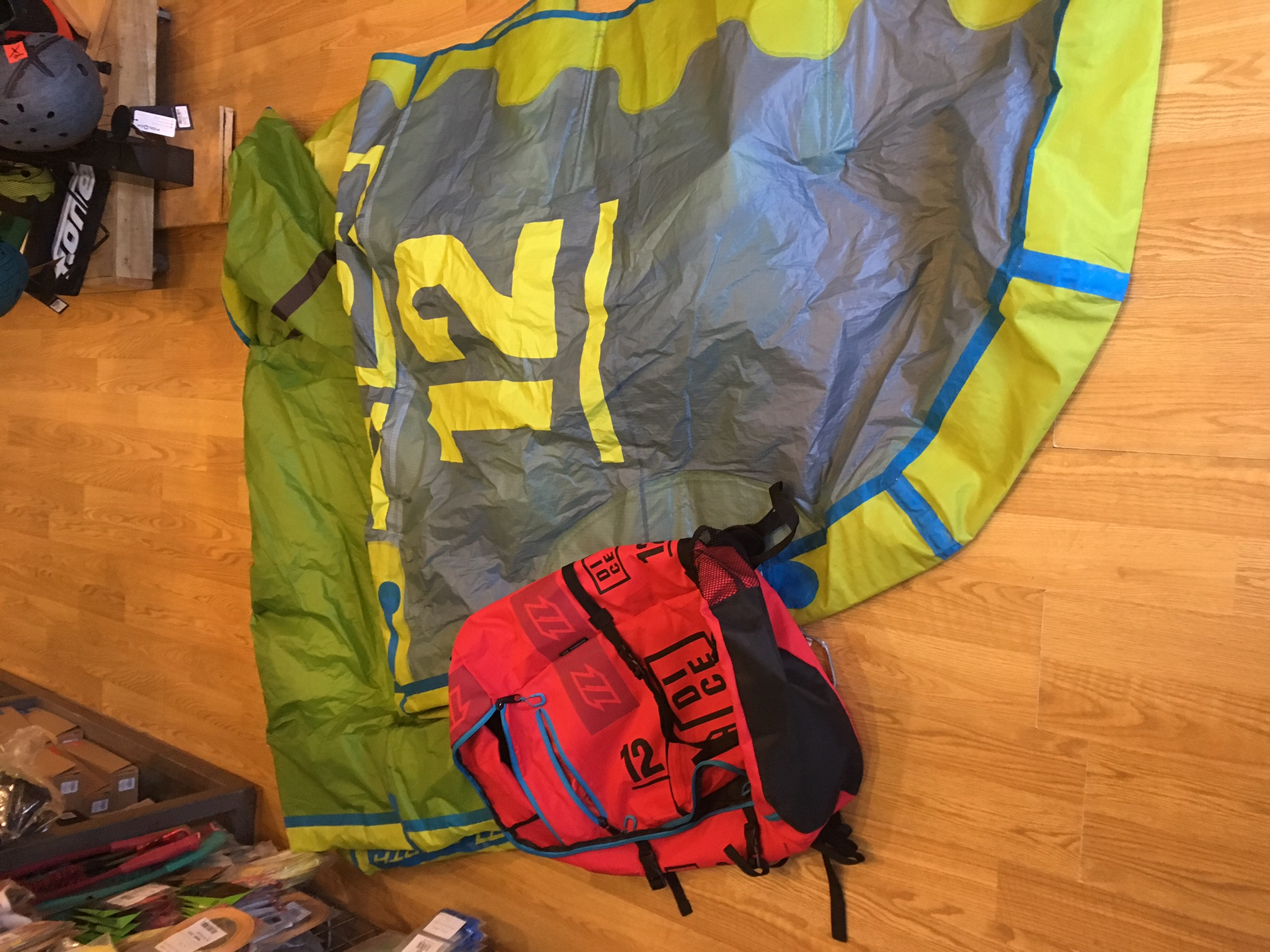S/H North 2016 DICE 12m Kite Only