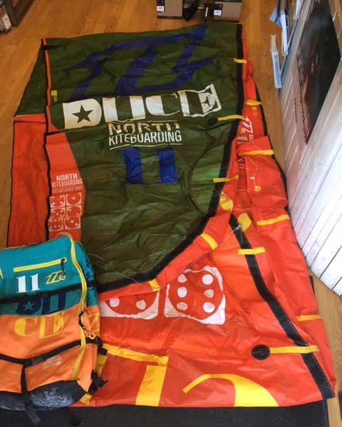 S/H North 2014 11m Dice Kite Only