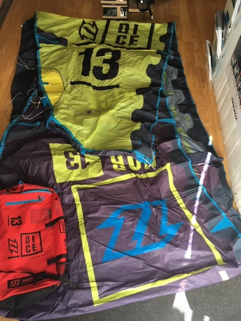 S/H North 2016 Dice 13m Kite Only