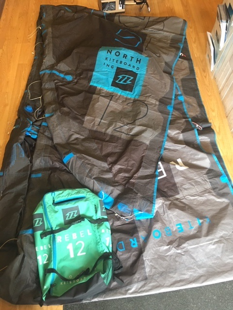 S/H North 2018 Rebel 12m Kite Only