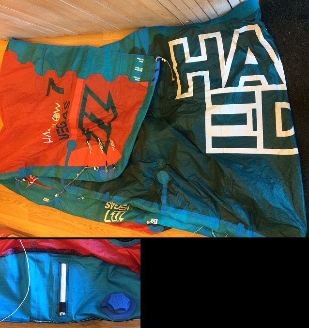 S/H 2015 North Vegas 7m Hadlow Edition Kite Only