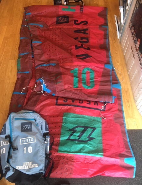 S/H North 2017 Vegas 10m Kite Only
